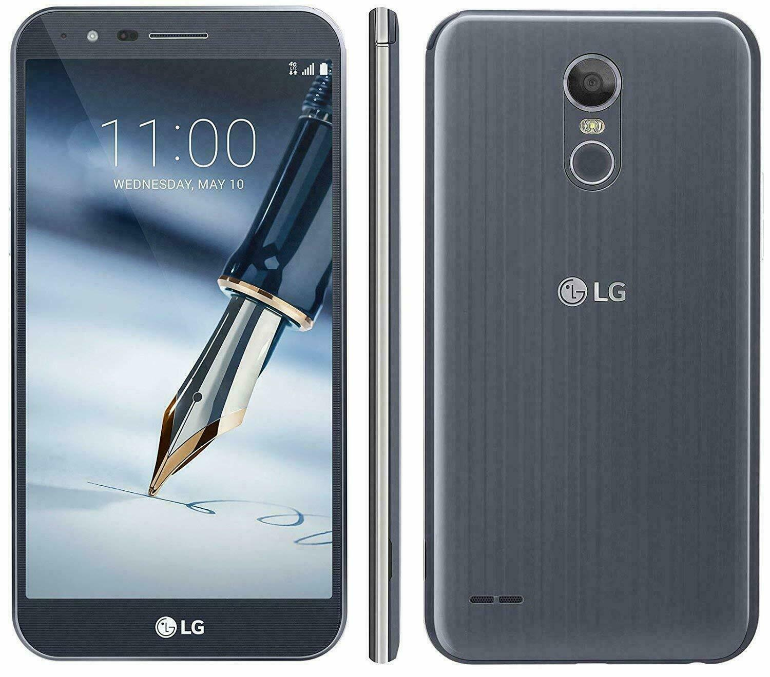 LG STYLO 3 PLUS - 32GB - GSM Unlocked Smartphone 10/10