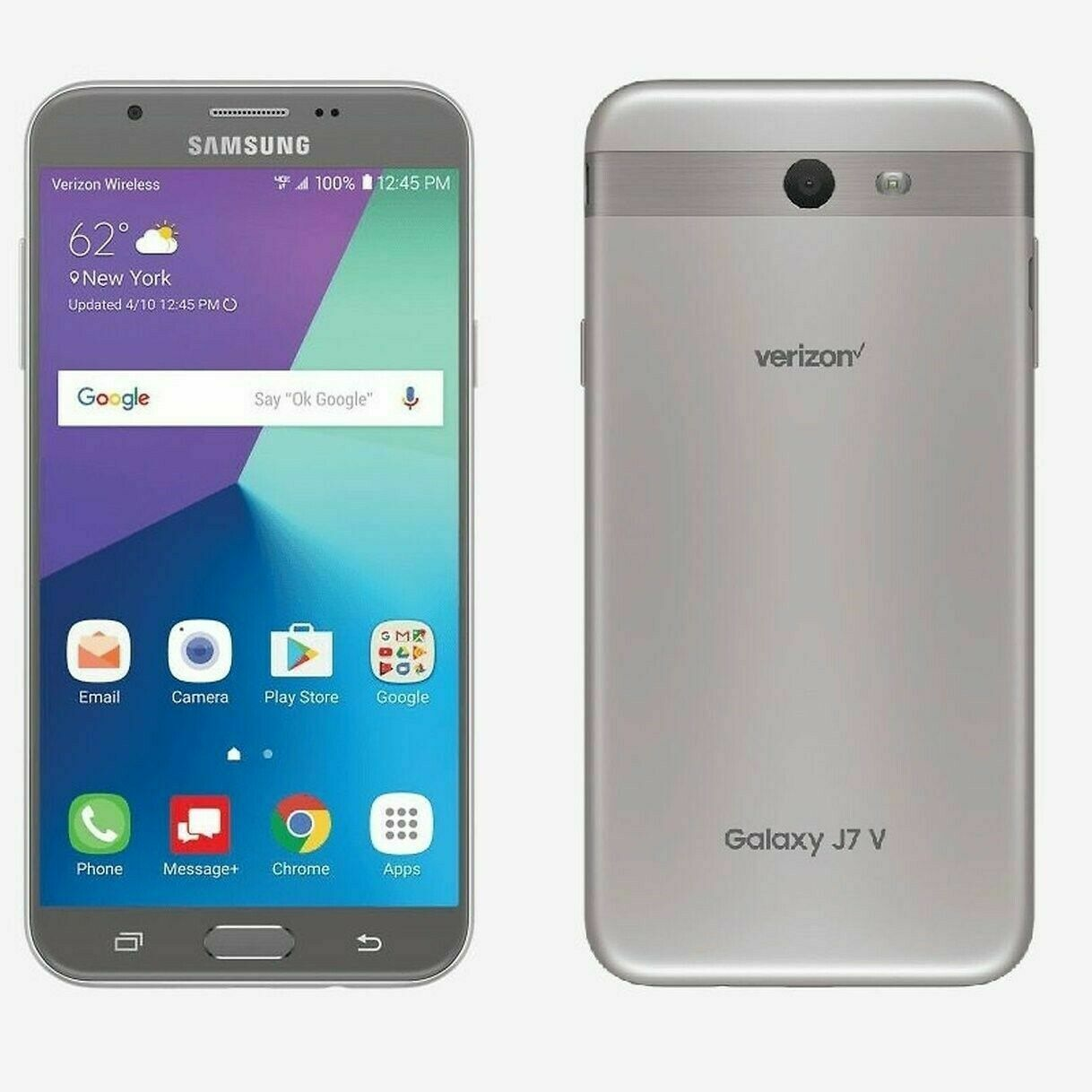 Samsung Galaxy J7 SM-J727V - 16GB - Verizon Unlocked Smartphone 7/10