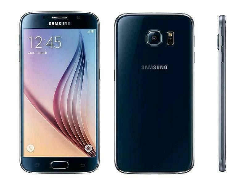 Samsung Galaxy S6 SM-G920 - 32GB - GSM Unlocked Smartphone 7/10 - SBI - High Class Mobile