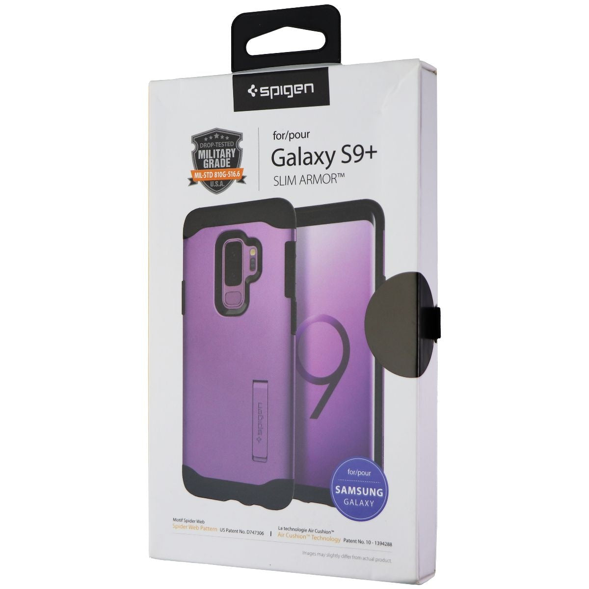 Spigen Slim Armor Dual Layer Case for Samsung Galaxy (S9+) - Lilac Purple