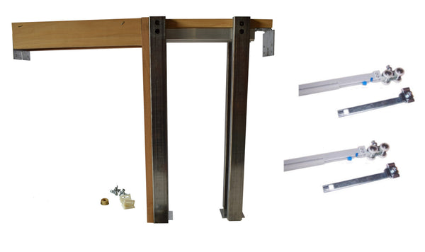 2650 Series Single Pocket Door Frame Kit with Soft Close  & Soft Open