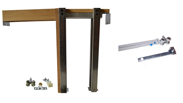 2650 Series- Single Pocket Door Frame Kit with SOFT CLOSE