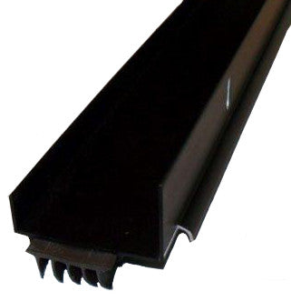 "Door Bottom Sweep Aluminum -Long Fingered - 35 3 /4"" Length - Bronze For 1 3/ 4"" Thick Doors"