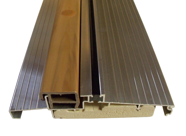 "OUTSWING Threshold  5/58"" with Composite Cap and Composite Base-  MILL"