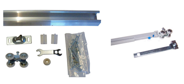 Series 1- HBP- Heavy Duty Pocket Door Track and Hardware With Either SOFT CLOSE  or  SOFT OPEN