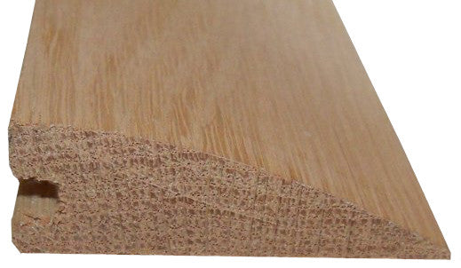 Style 3-  RED OAK- Solid Hardwood Interior Threshold - HBP