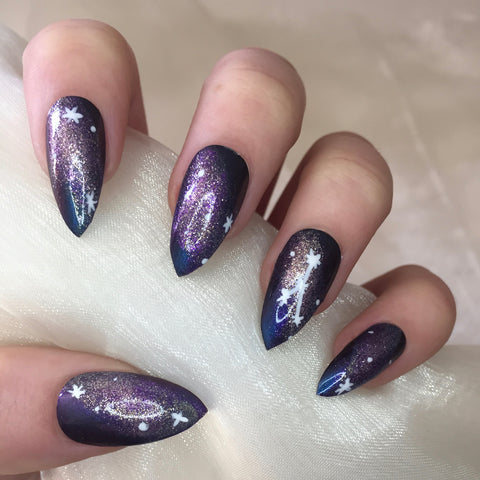 Constellation Star Sign Nails - 1