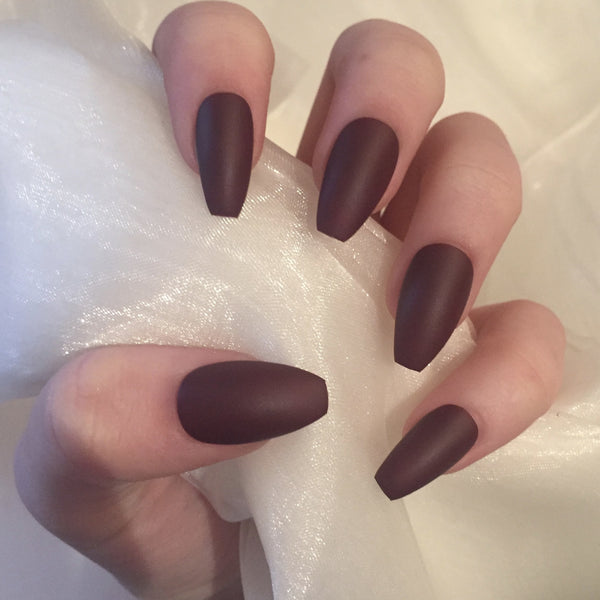 Coffin Nails – Nails By Georgia