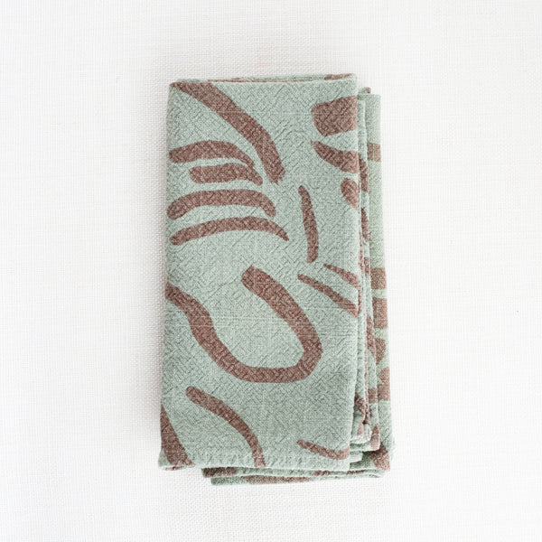 Everyday Napkins - Fold - Clay - Sage