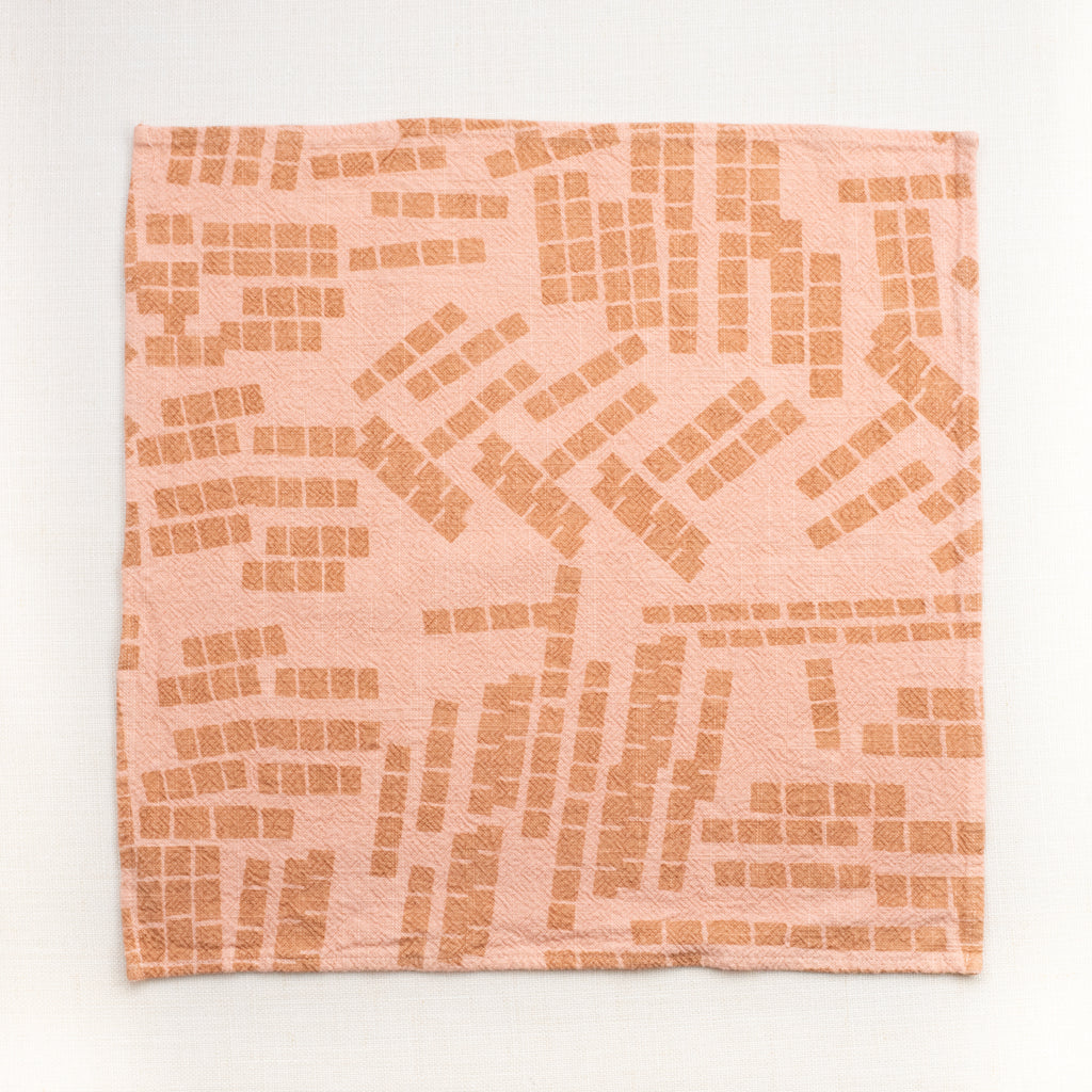 Everyday Napkins - Tiles - Shell - Champagne