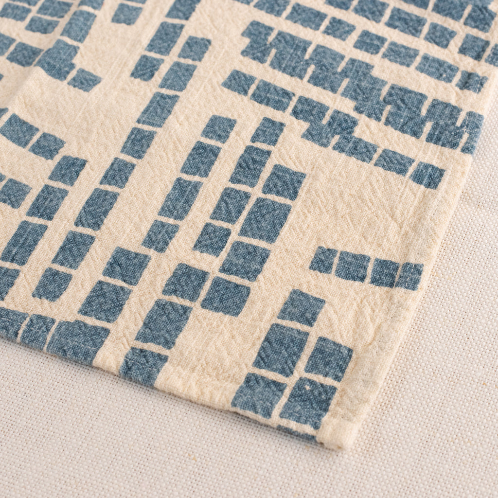 Everyday Napkins - Tiles - Sky - Natural