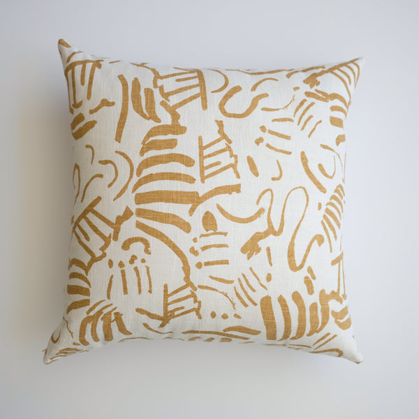 Pillow - Fold in Gold