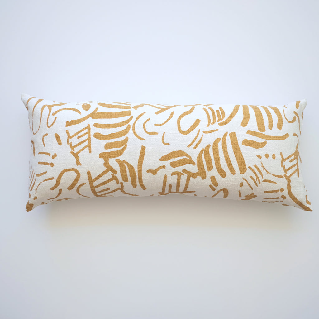 Pillow- Lumbar- Fold in Gold