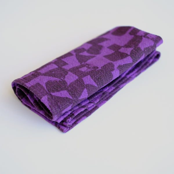 Everyday Napkins - Checks - Lentil - Violet
