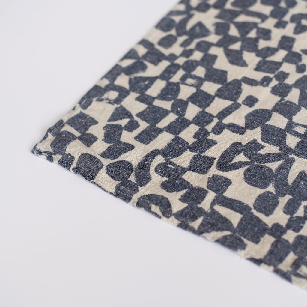 Over-dyed Bandana - Natural Midnight