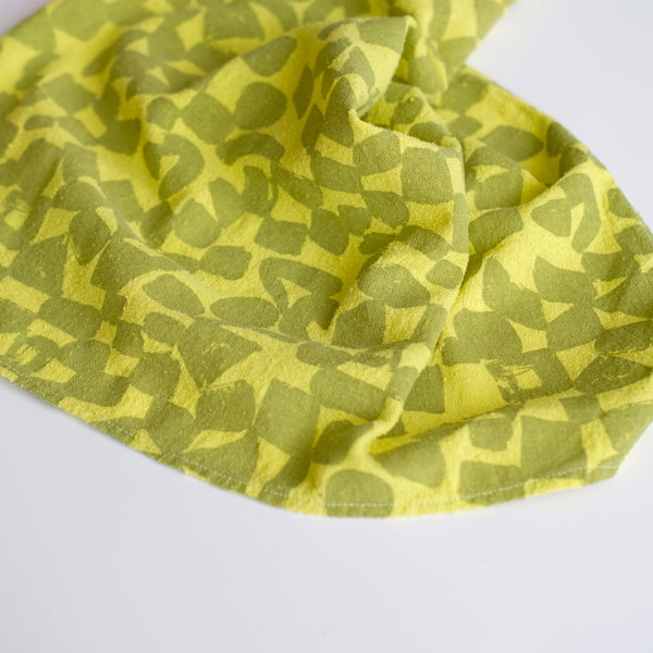 Over-dyed Bandana - Acid Lime