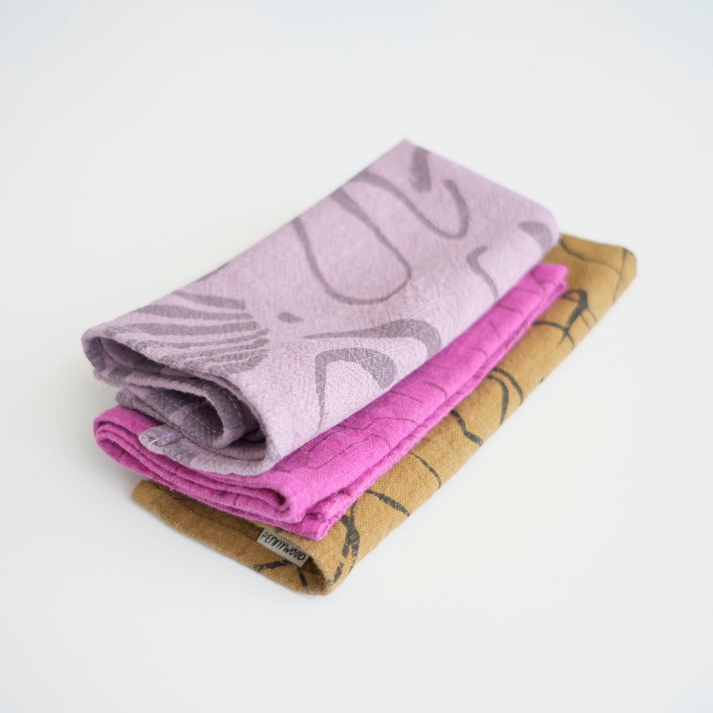 Everyday Napkins - Fold - Fig/plum