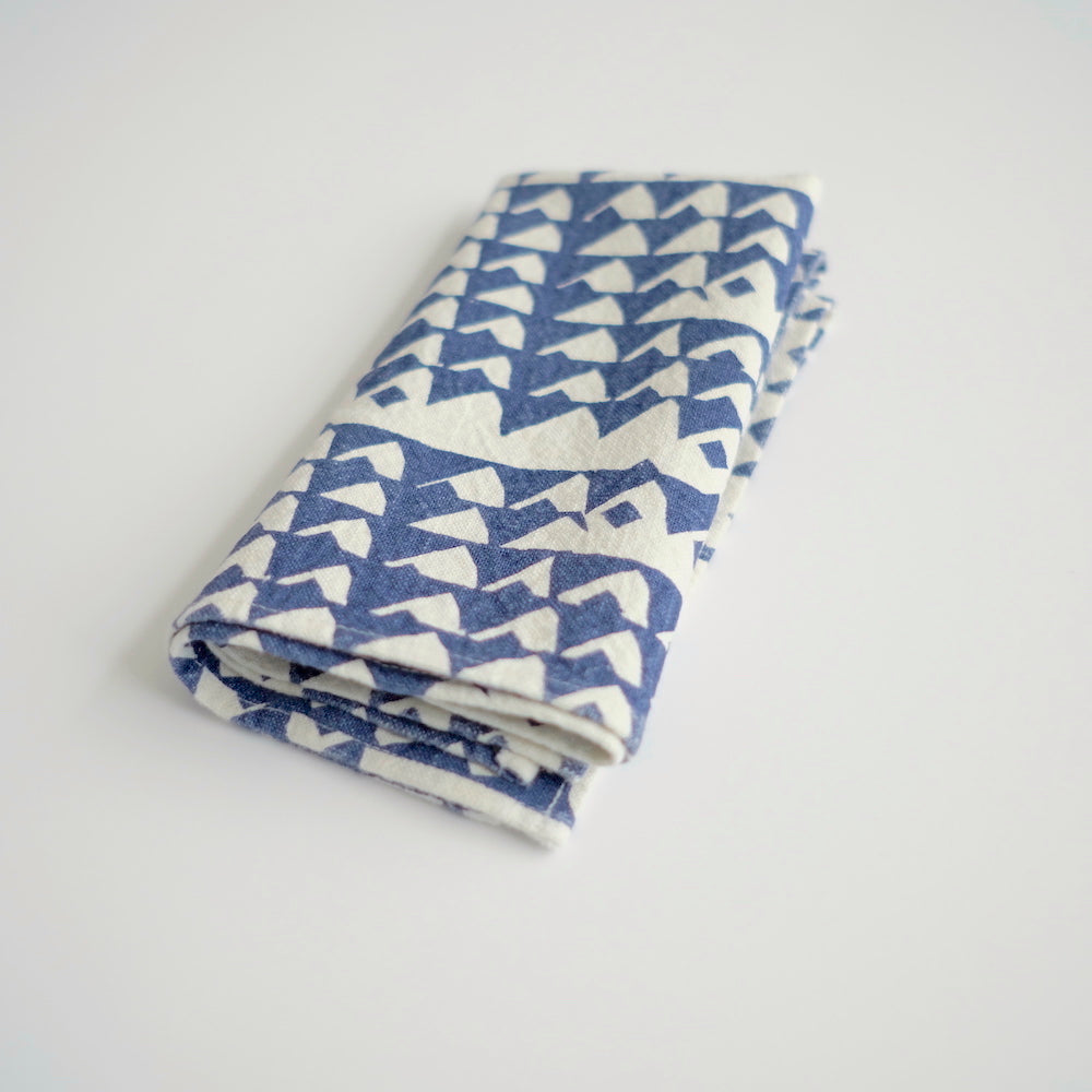 Everyday Napkins - Triangle - Indigo