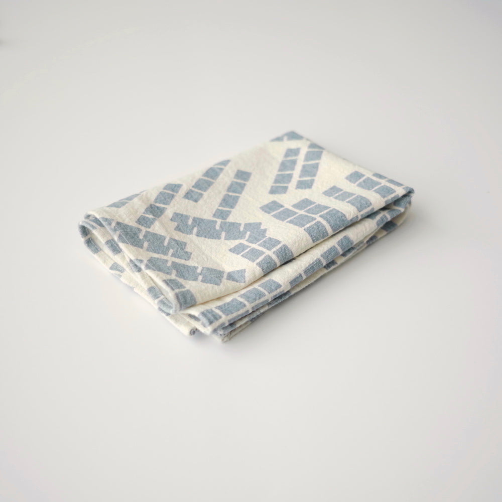 Tea Towel - Tiles - Sky