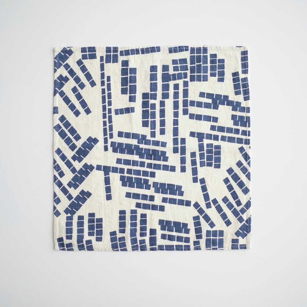 Everyday Napkins - Tiles - Indigo