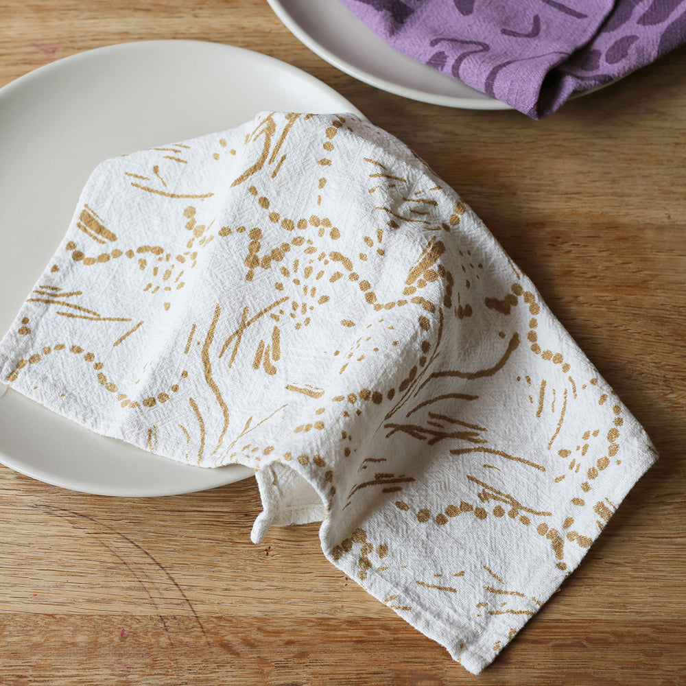 Everyday Napkins - Drape - Gold