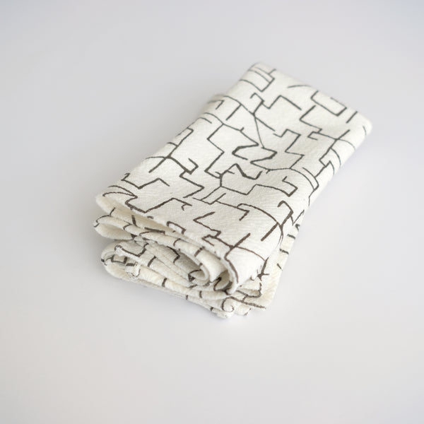 Everyday Napkins - Maze - Warm Grey
