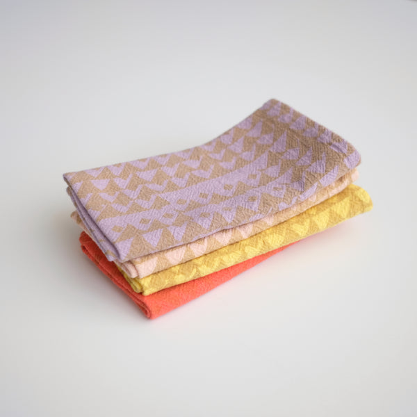 Everyday Napkins - Triangles - Spring Set