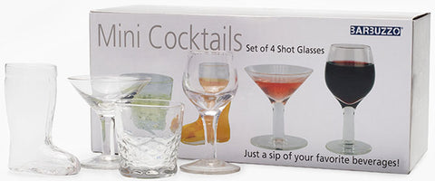 Mini Cocktails Shot Glasses