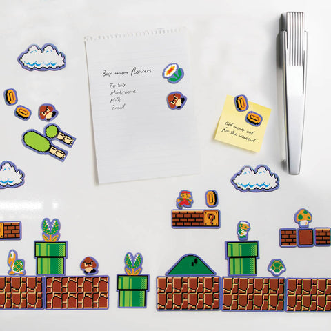 super mario video game n64 nes fridge magnets make your own level