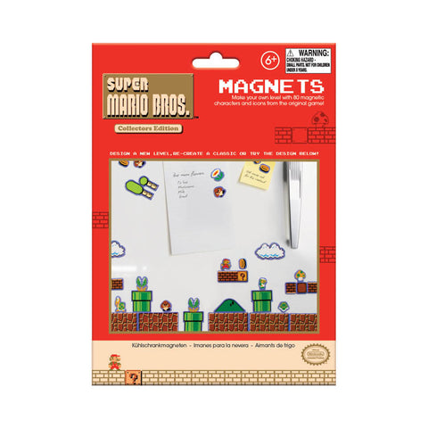 super mario video game n64 nes fridge magnets make your own level package packaging
