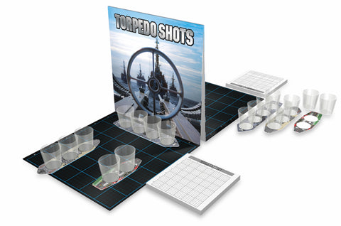 battleshots battleship torpedo shots sink your ship