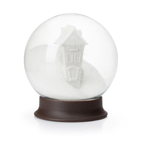 sugar bowl snow globe upside down