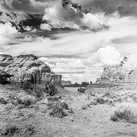 Black and White Vintage Photography by Senator Barry Goldwater (Valley of the Monuments) - Art Prints and Wall Decor