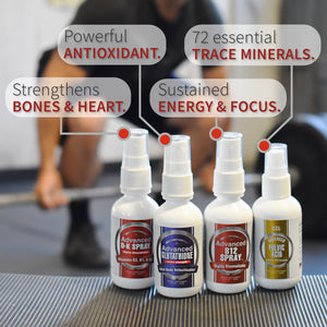 CCL Superhuman Bundle | Glutathione, Vitamins B12, D & K, and Fulvic Acid