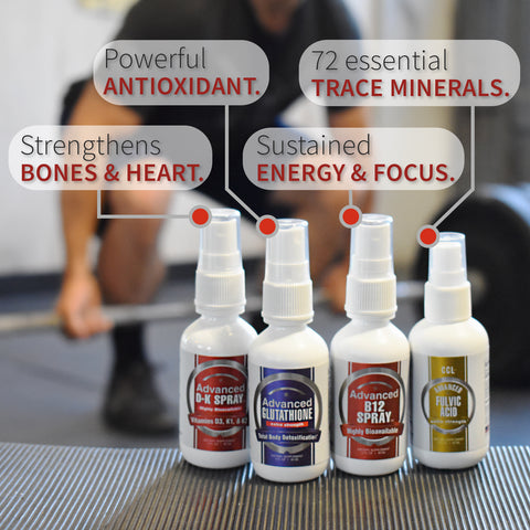 Image of CCL Superhuman Bundle | Glutathione, Vitamins B12, D & K, and Fulvic Acid