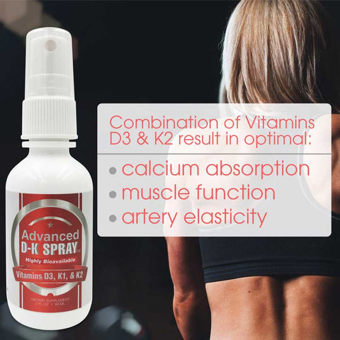CCL Advanced Vitamin D3 & K2 Spray™ | Bone, Heart, and Mood Support