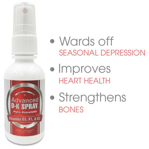 Image of CCL Advanced Vitamin D3 & K2 Spray™ | Bone, Heart, and Mood Support
