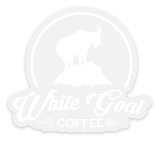 White Goat Decal