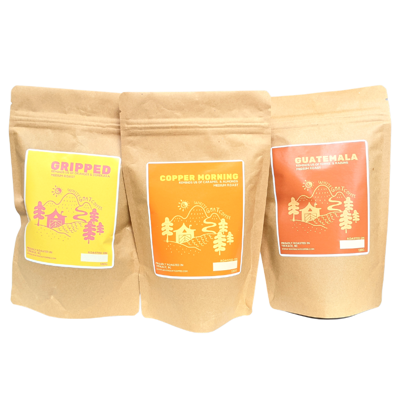 *New - 3-Pack Sampler Bundle & Save - White Goat Coffee