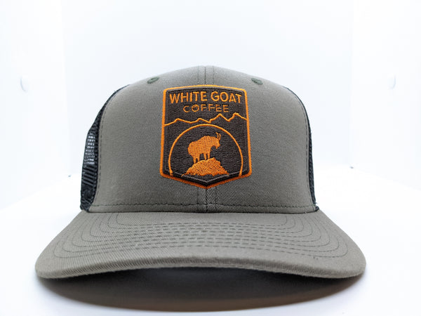*Sale - White Goat Trucker Hat
