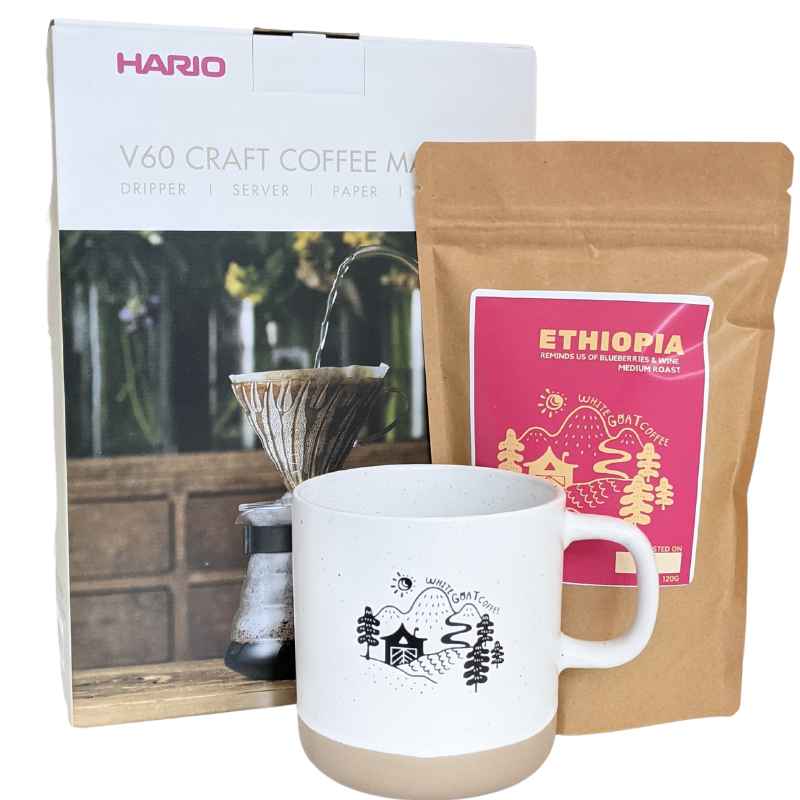 Pour-Over Starter Bundle - White Goat Coffee