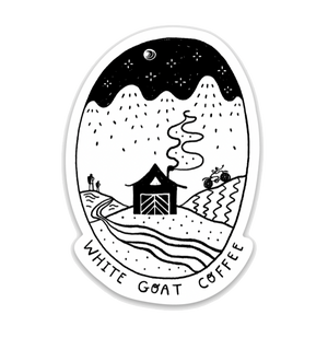 Load image into Gallery viewer, Roastery Decals - White Goat Coffee