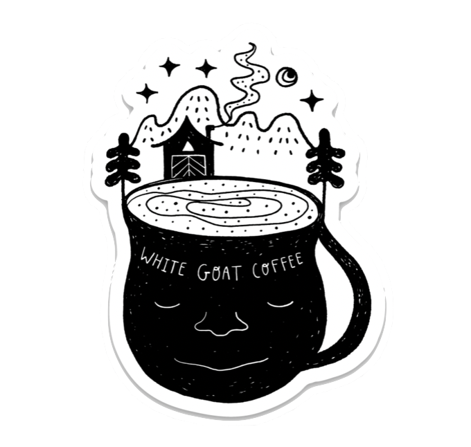 Roastery Decals - White Goat Coffee