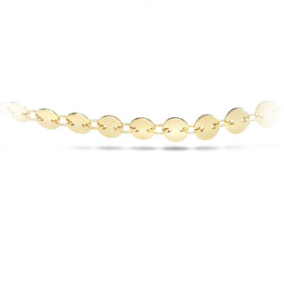 Coin-chella Gold Choker - Aldina Collection