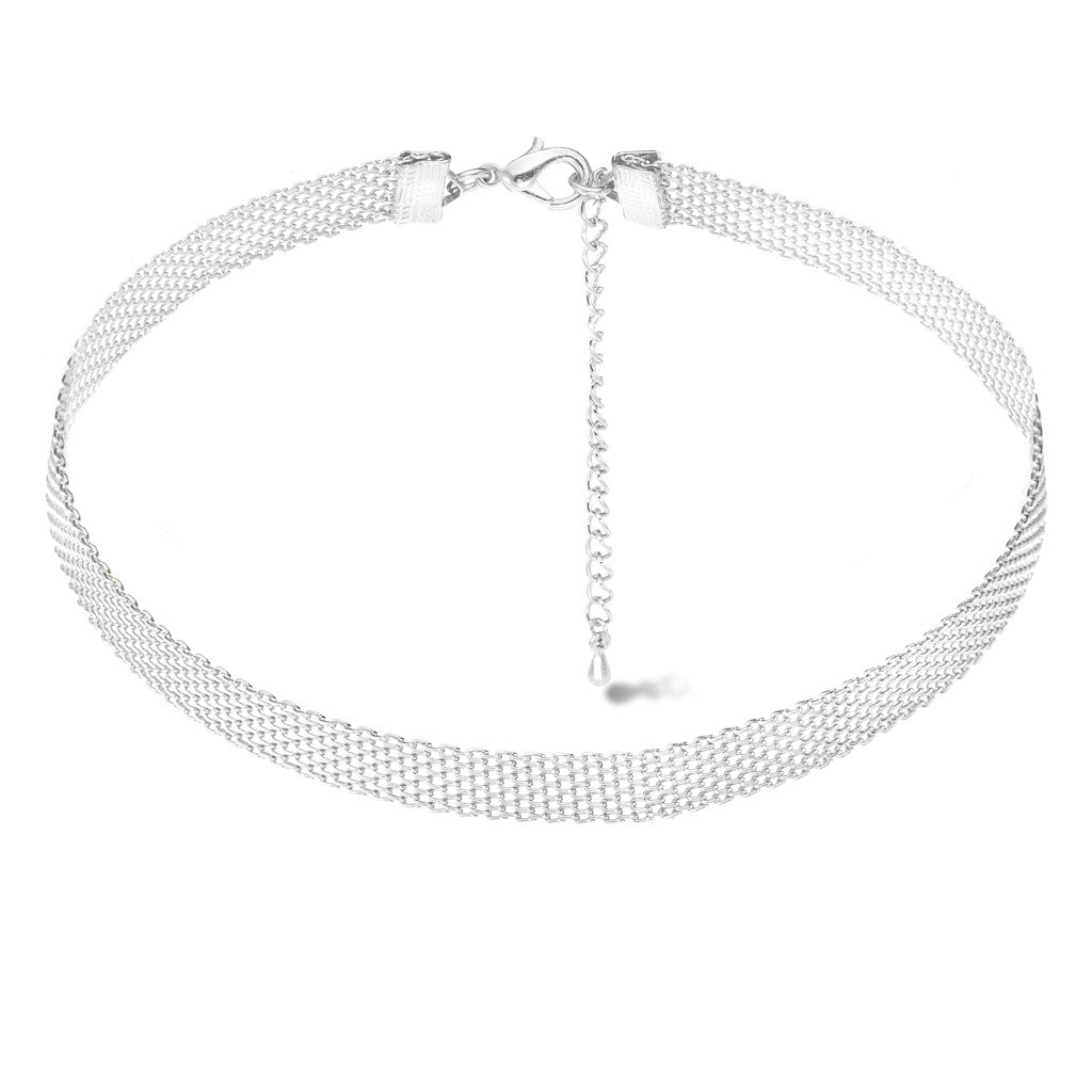 Gala Silver Choker - Aldina Collection