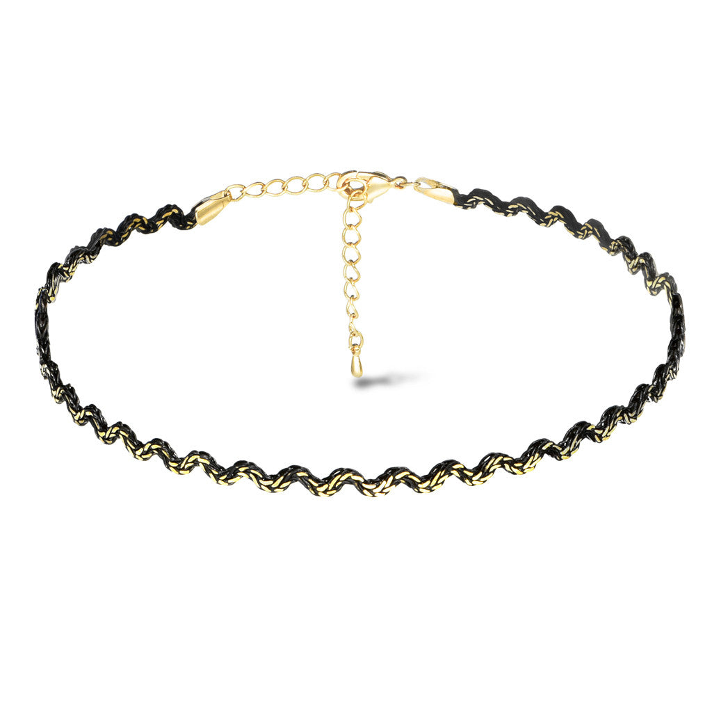 Boa Zig-Zag Choker - Aldina Collection