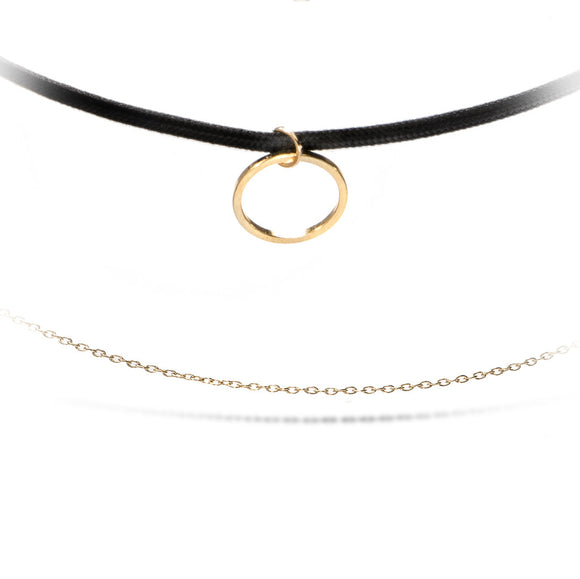 Capri Gold Choker - Aldina Collection