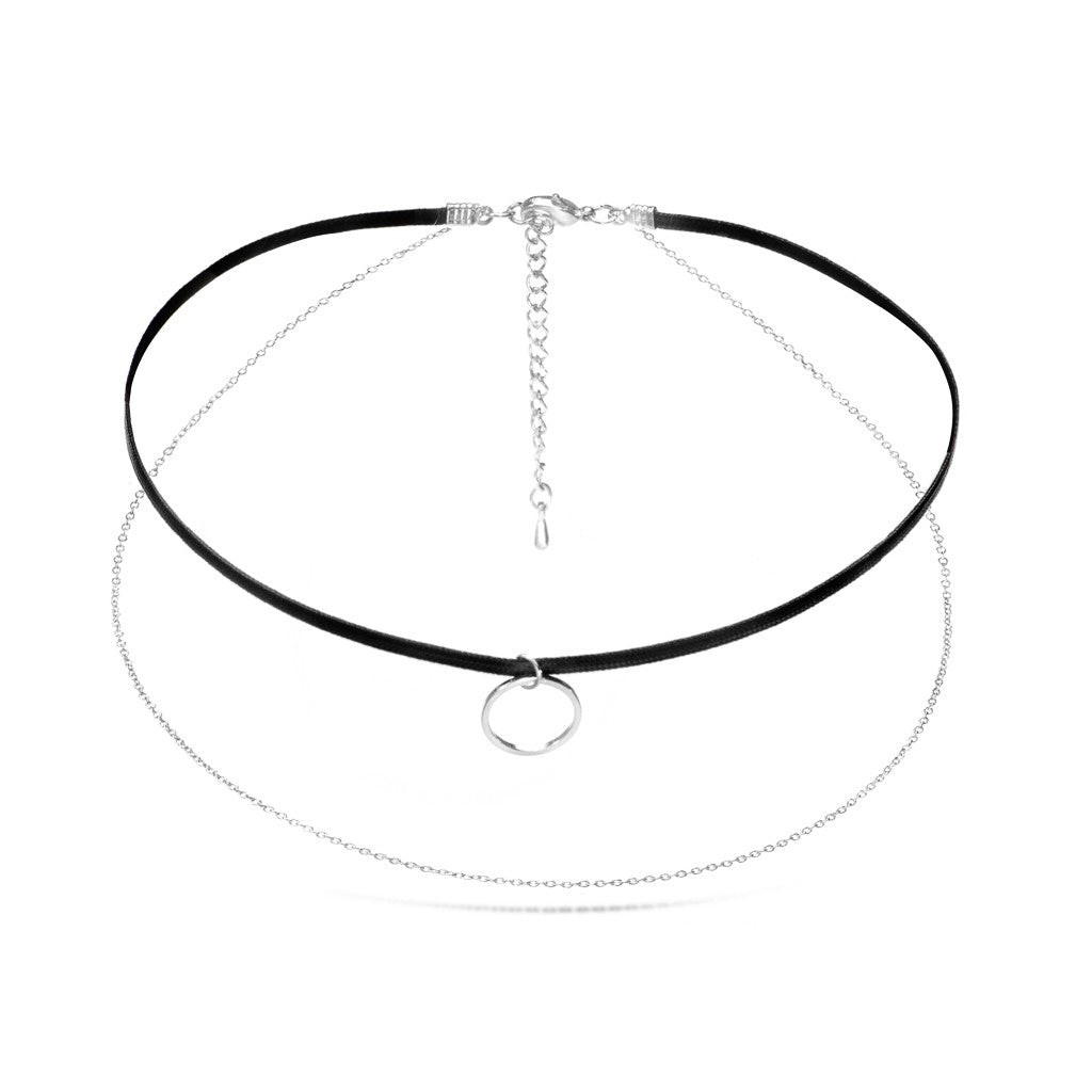 Capri Silver Choker - Aldina Collection
