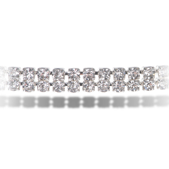 Hollywood Silver Choker - Aldina Collection