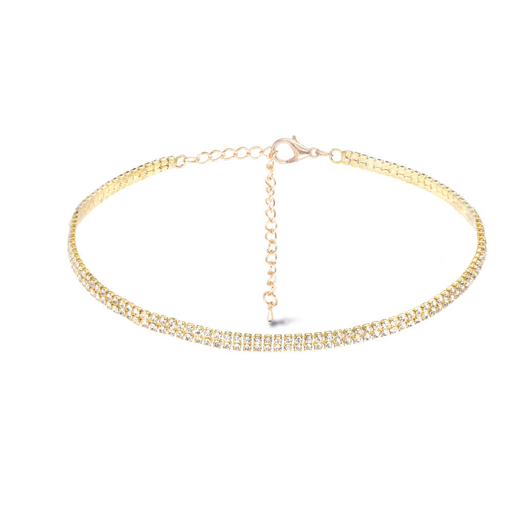 Hollywood Gold Choker - Aldina Collection